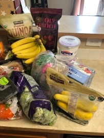 groceries...