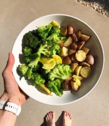 Potatoes & Broccoli
